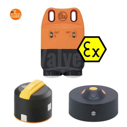 IFM NN504A ATEX Inductive Sensor Kit with Actuator Interface Connection Terminals
