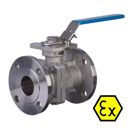 Mars Ball Valve Series 90D Fire Safe Anti Static Flanged PN40
