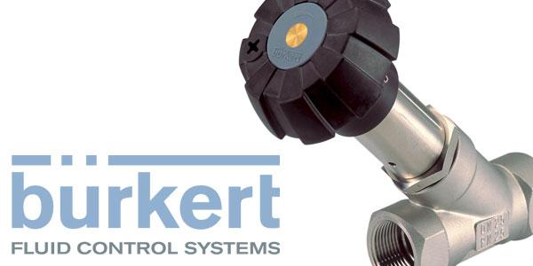 Manual Throttling Control Valve from Burkert