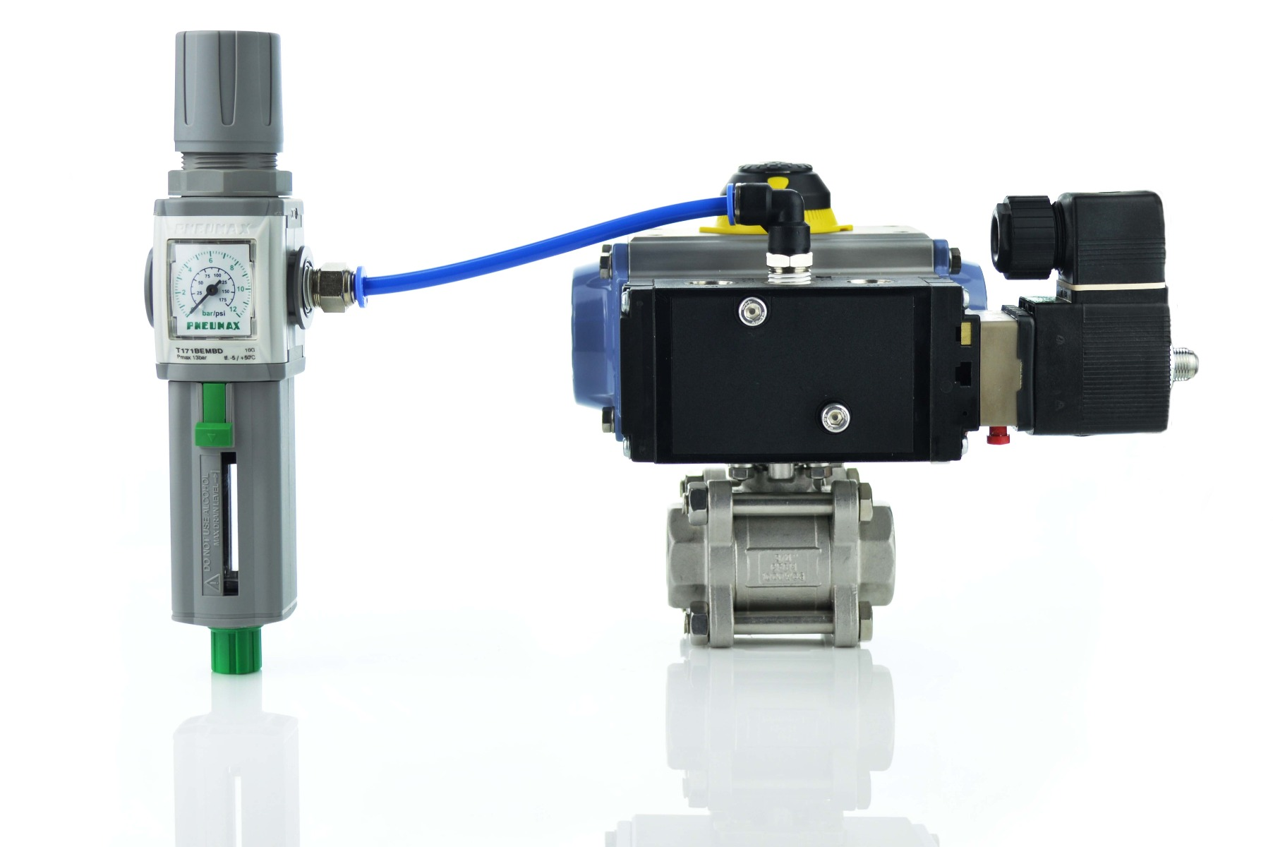 Reg with actuator