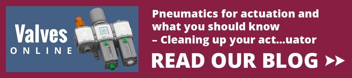 Pneumatics for Actuation Blog