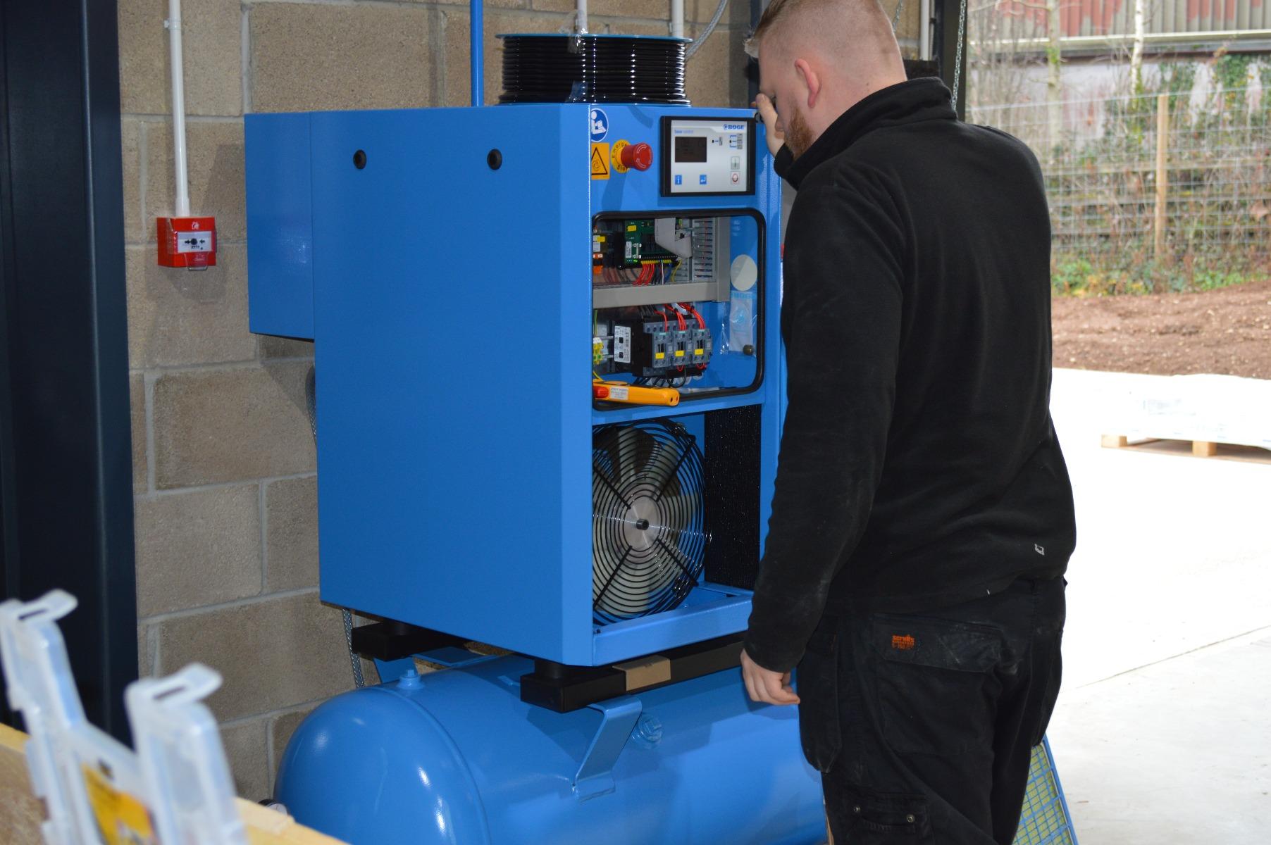 Compressor test