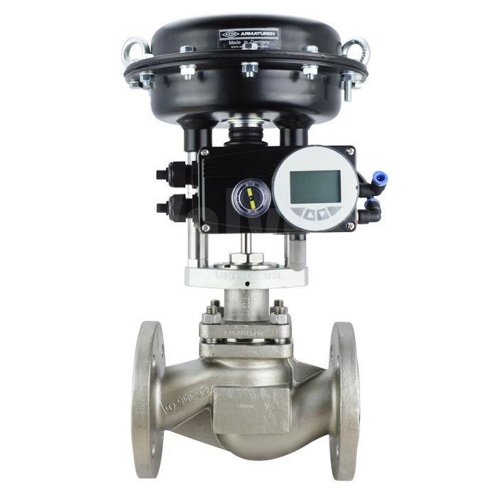 Globe control valves