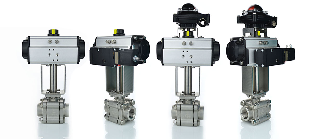 View Actuated Valves