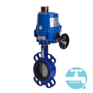 Electric Operated WRAS Wafer Butterfly Valve