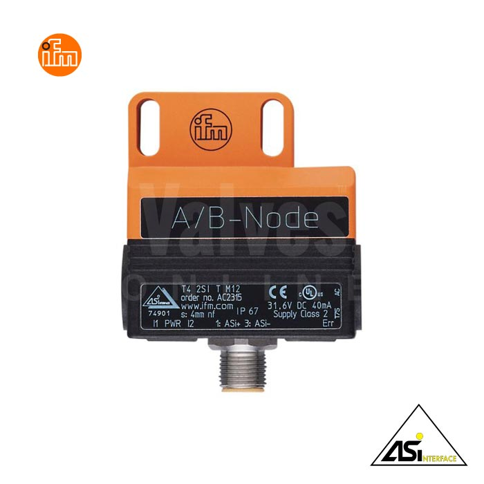 IFM AC2315 AS-Interface Dual Sensor for Pneumatic Valve Actuators